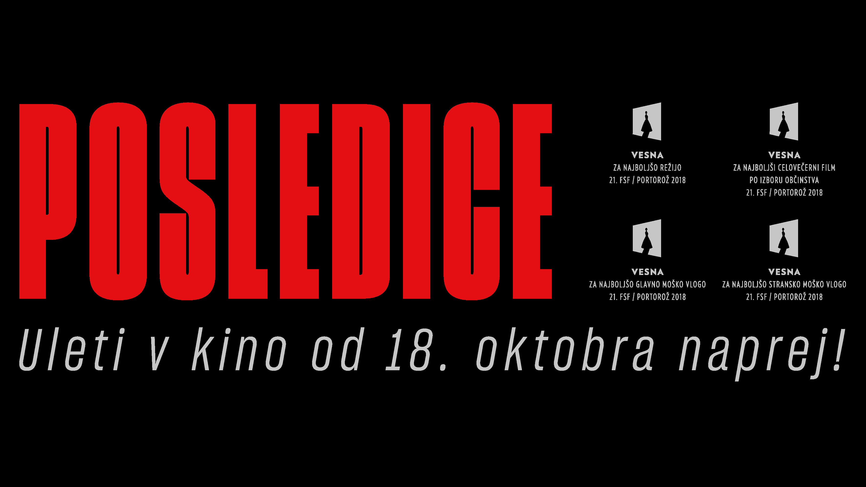 CONSEQUENCES wins 5 awards at the 21st Festival of Slovenian